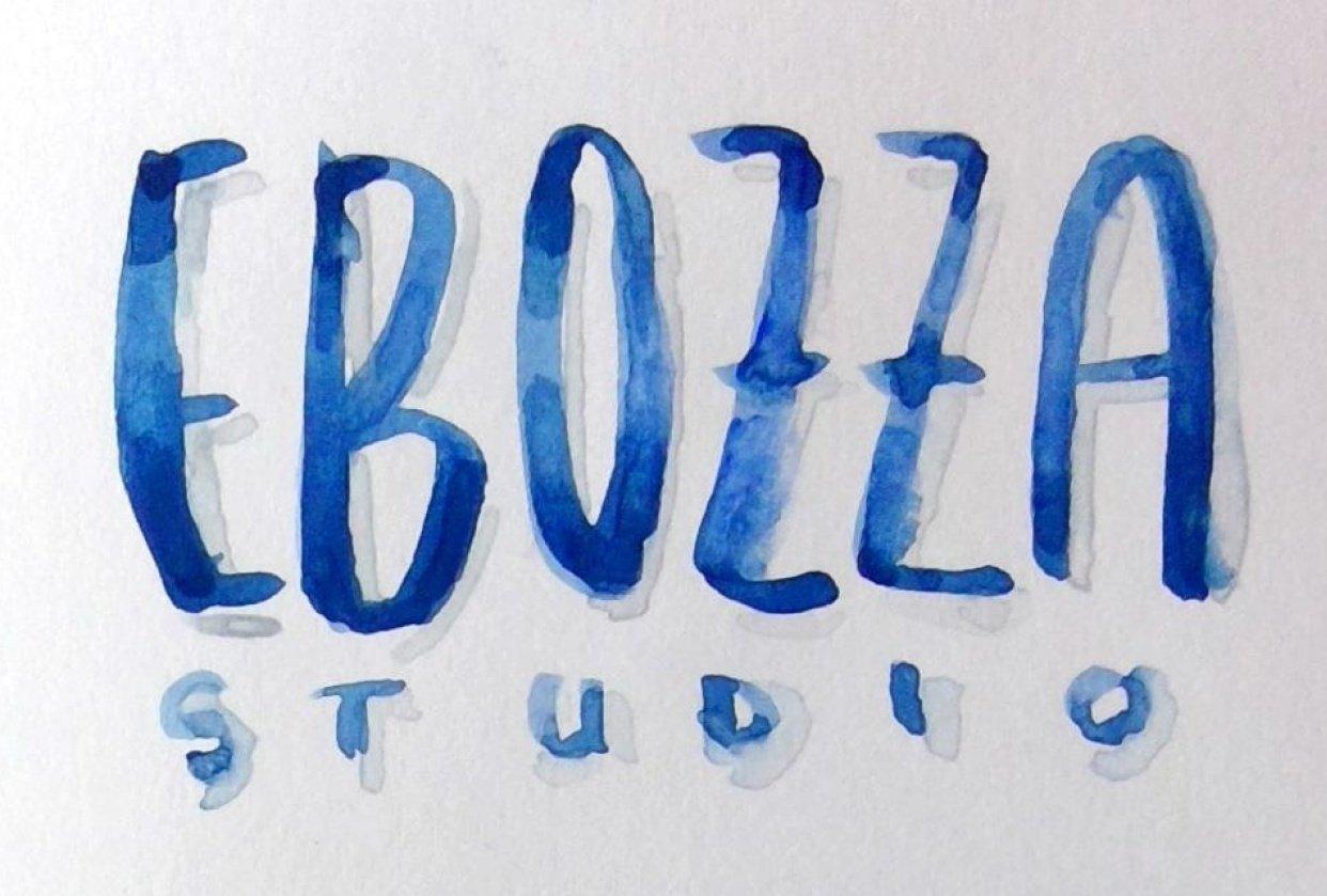 Elaine Bozza (@ebozzastudio logo) - student project