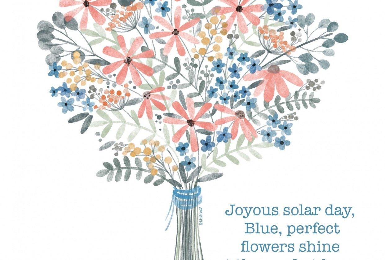 Flowers Haiku Poem - student project