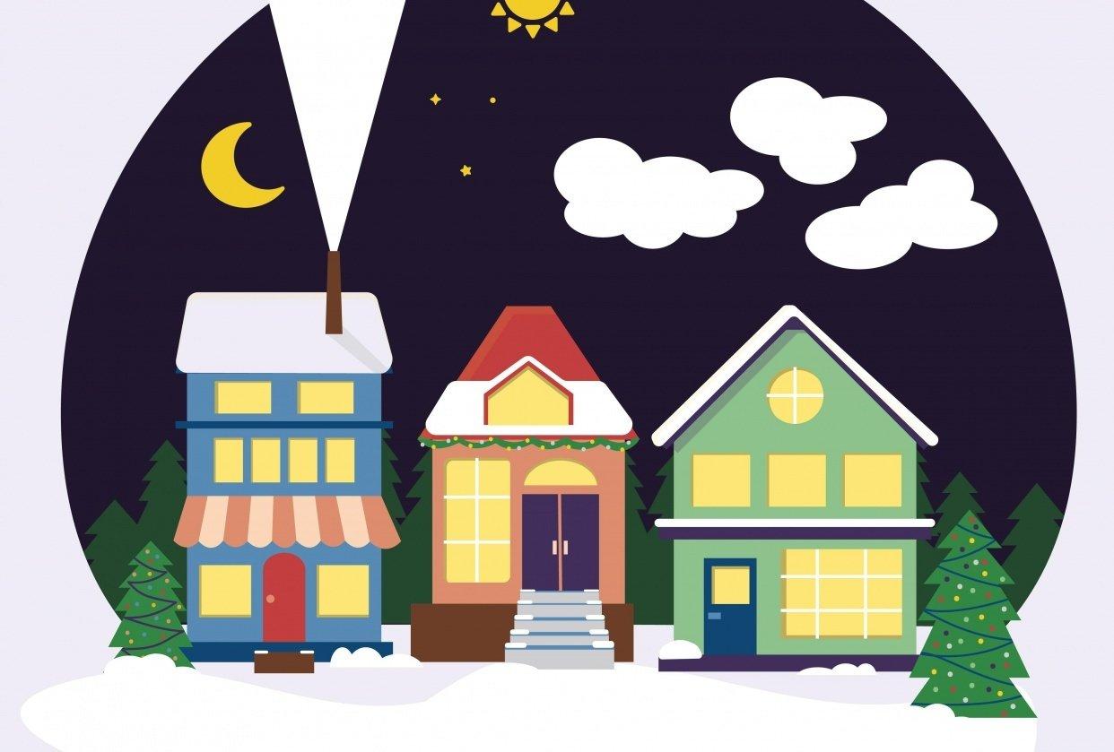 Winter Scene - student project
