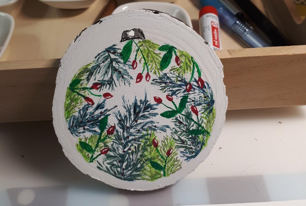 Winter Ornament - student project