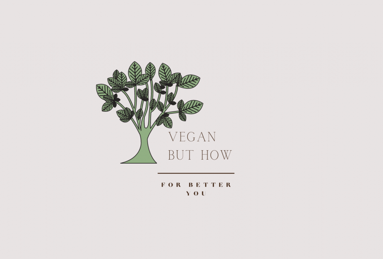 Logo for Vegan But How - student project