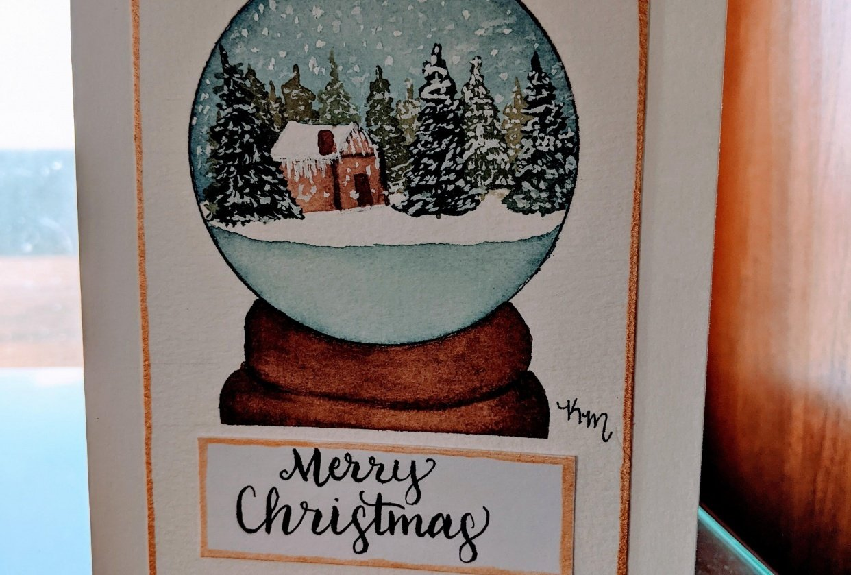 Christmas Card - student project