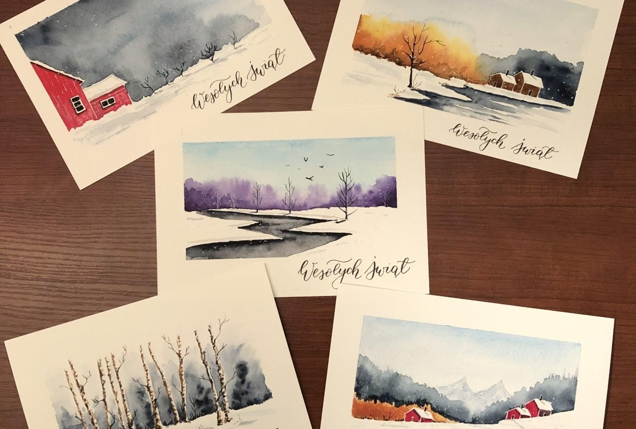 Christmas cards :-) - student project