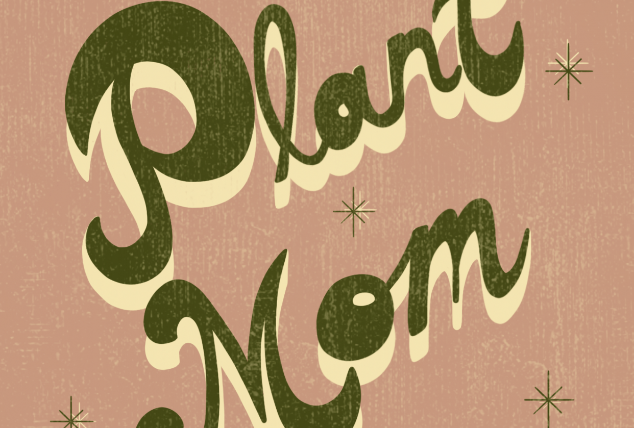 70 's lettering - student project