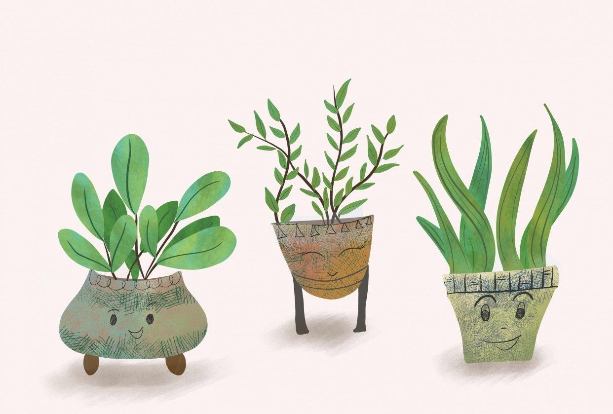 Little Plant-mates - student project