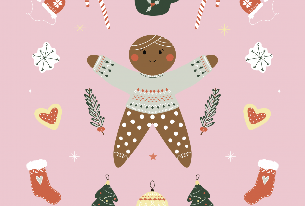 Christmas Pattern - student project