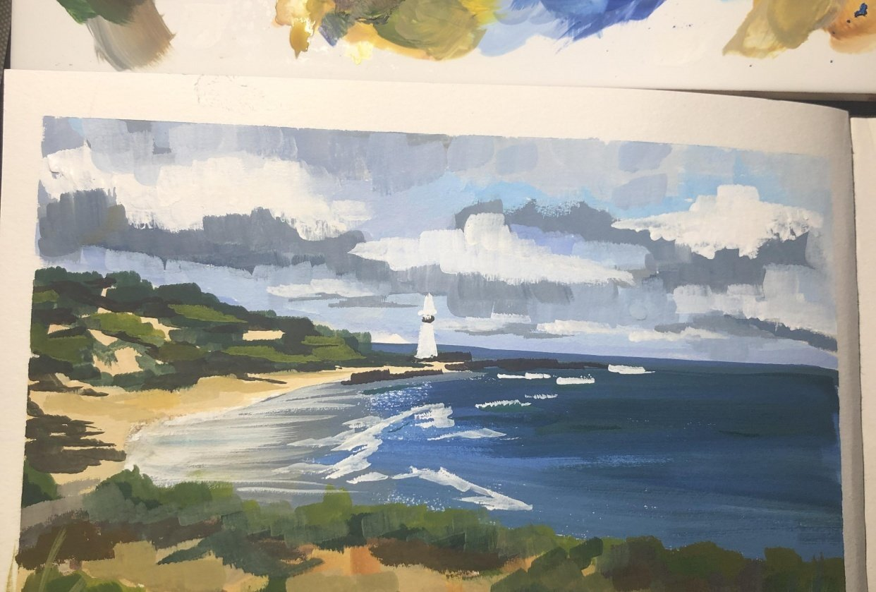 Norah head lighthouse - student project