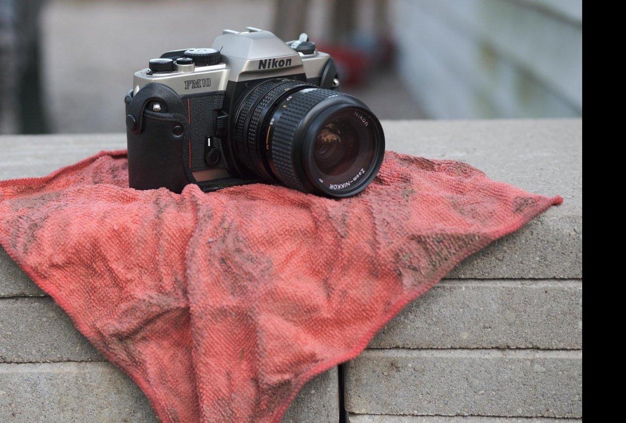 Nikon FM10 - student project