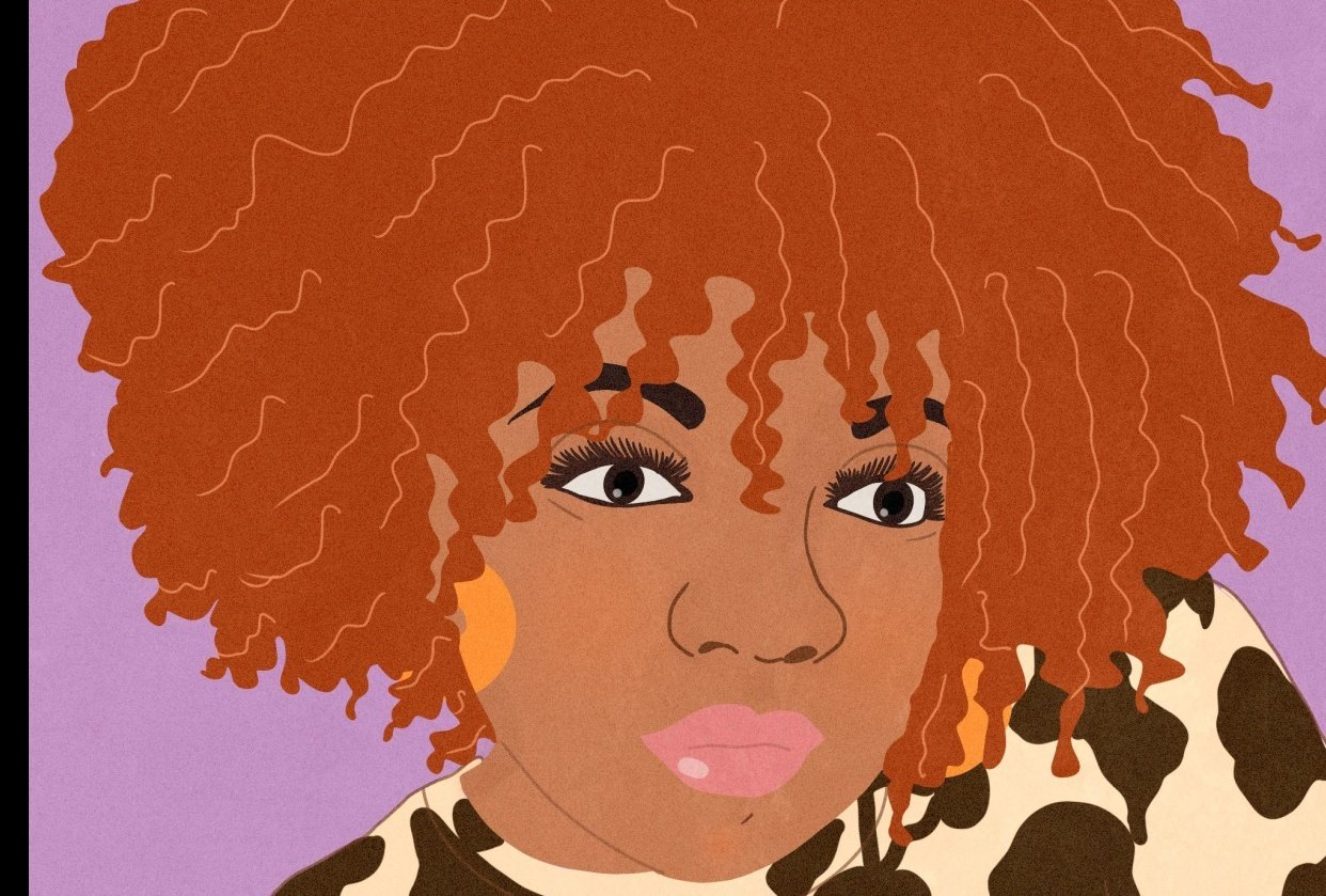 @RaynaLucier Self Portrait - student project
