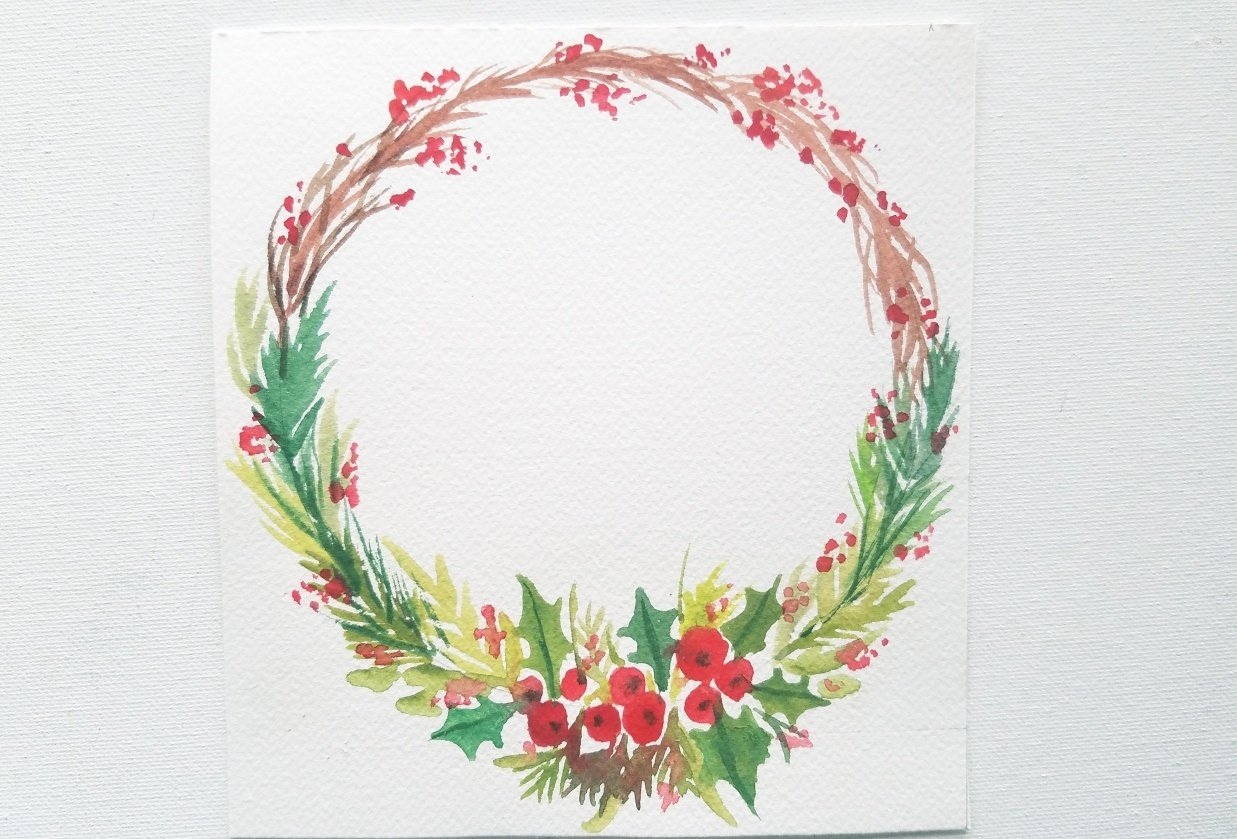 Christmas Wreath - student project
