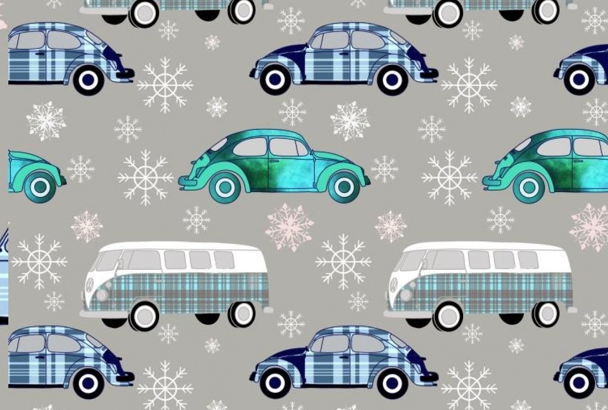 VW pattern Christmas - student project