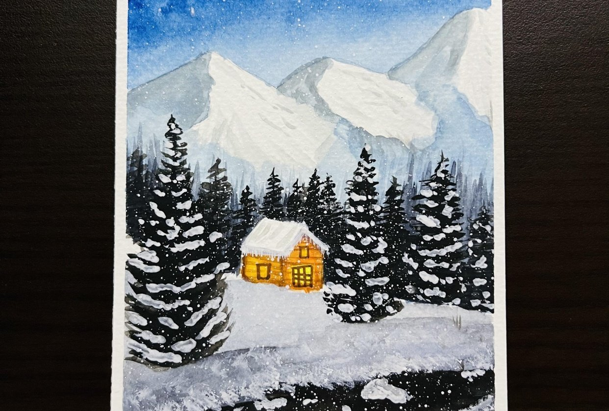 Snowy Christmas - student project
