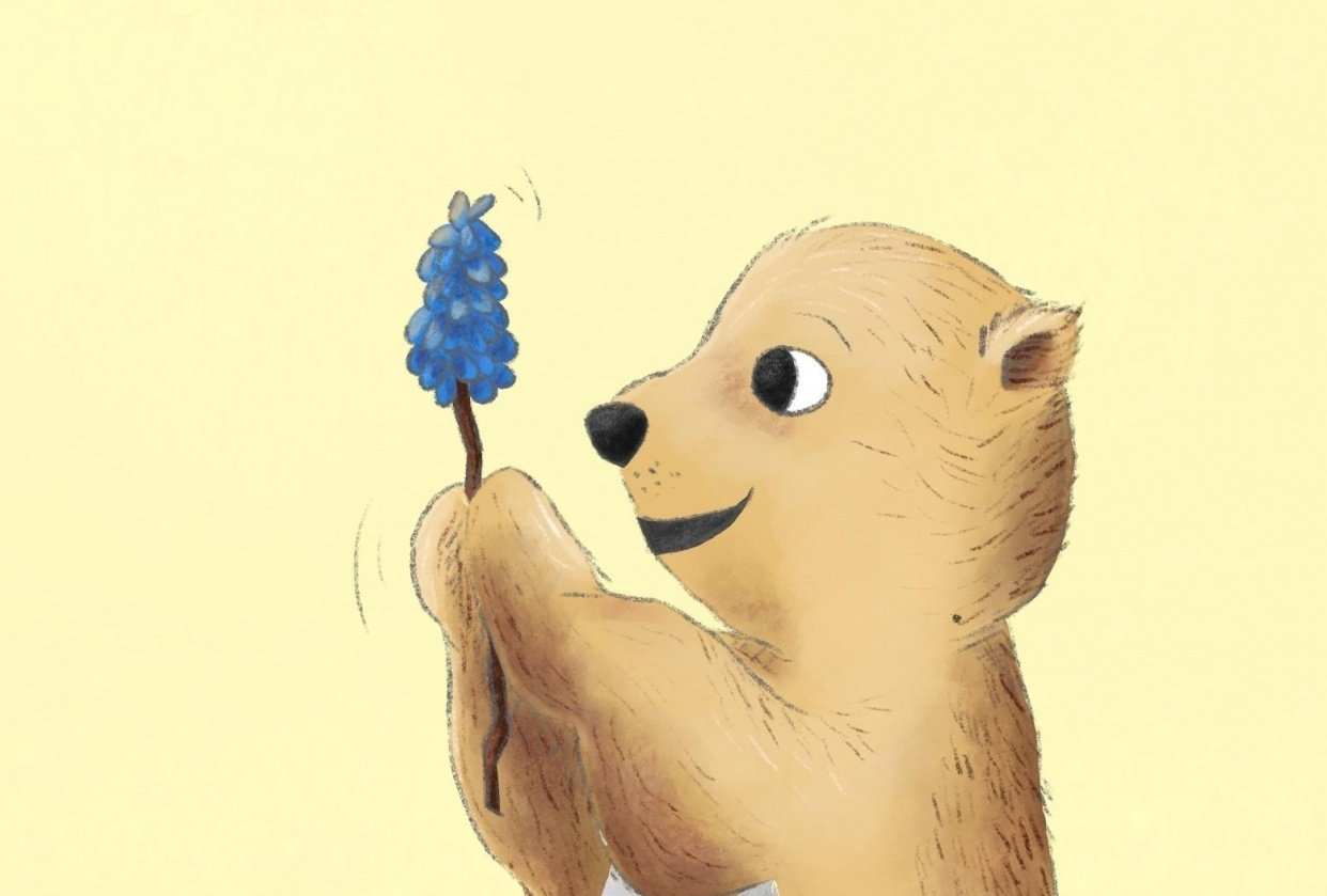 bear character - student project