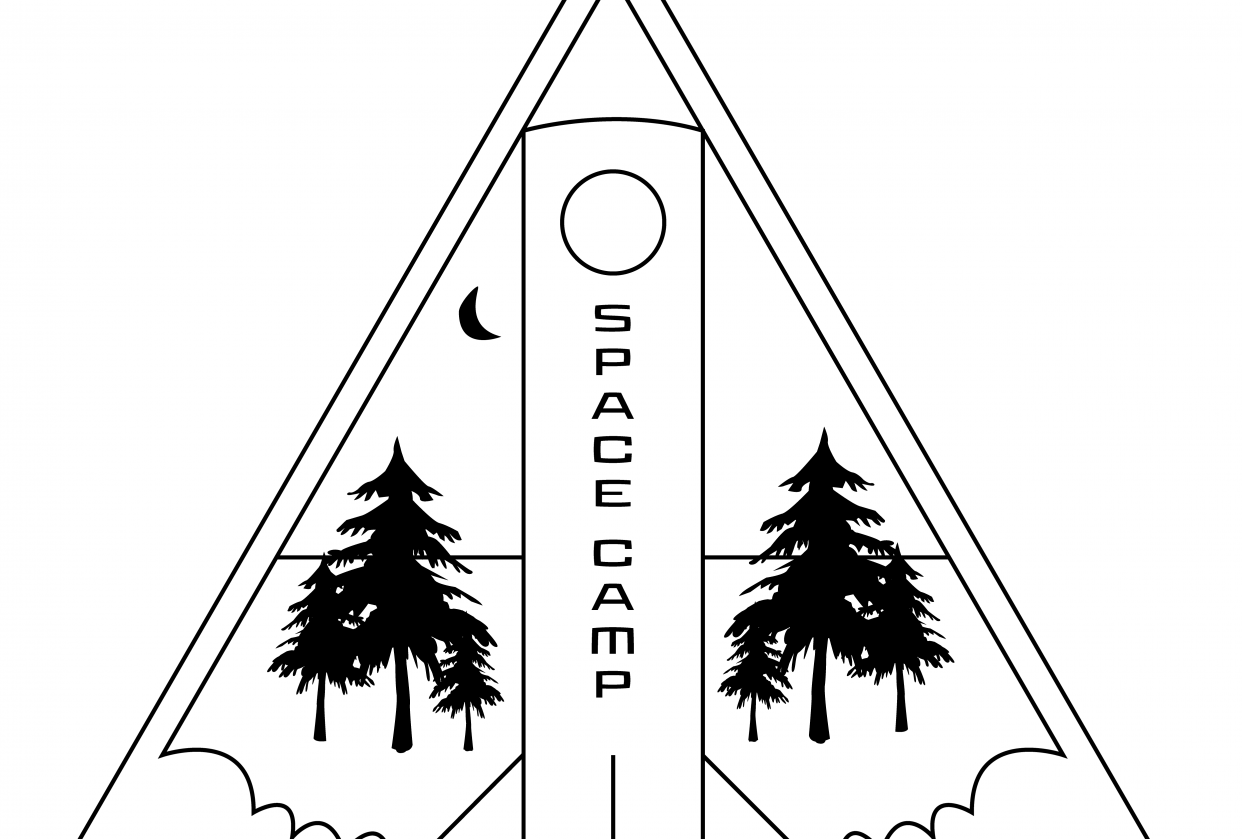 Space Camp Logo - student project