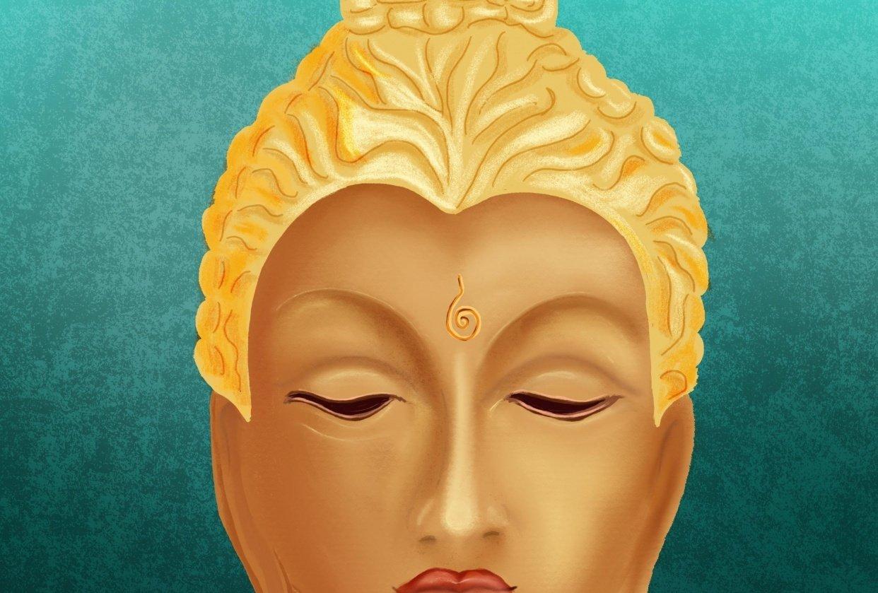 My female Buddha - student project
