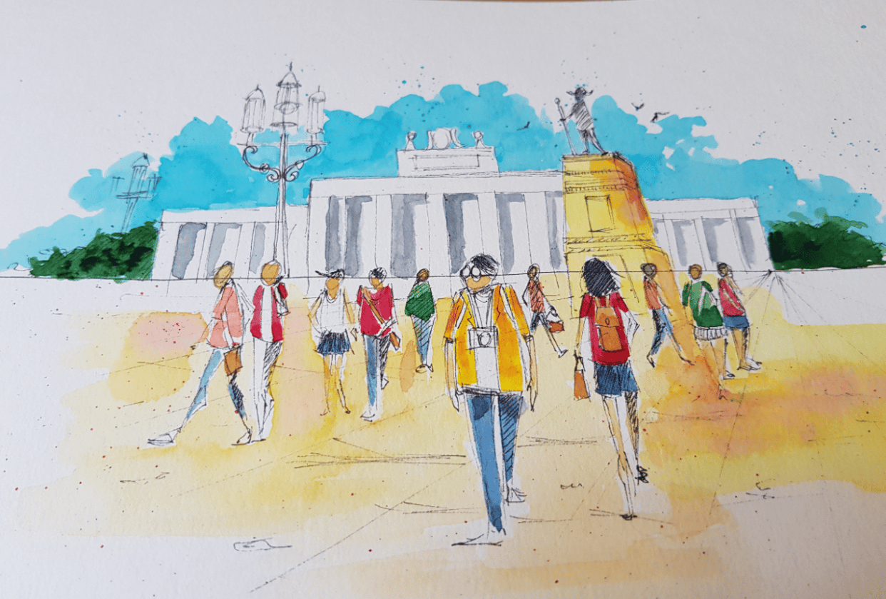 Urban sketches - student project
