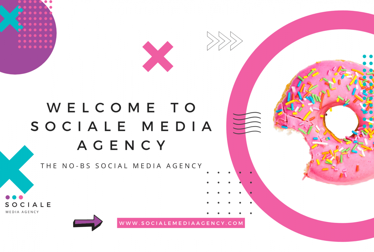 Sociale Media Agency Brand Bible - student project