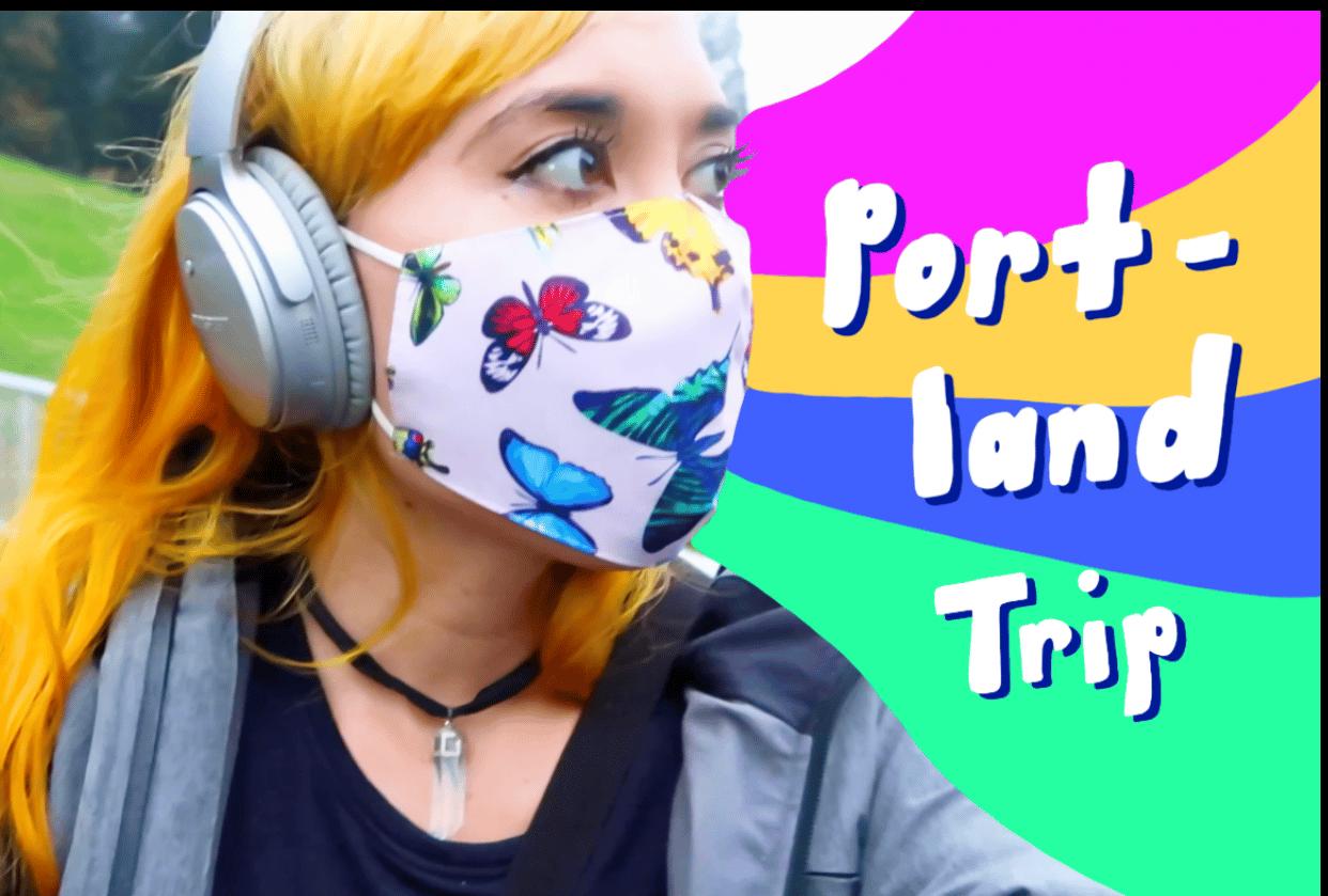 My recent Portland Vlog - student project