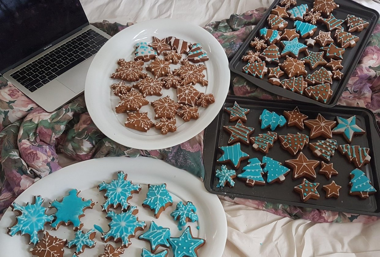 Janna's Christmas Cookies - student project