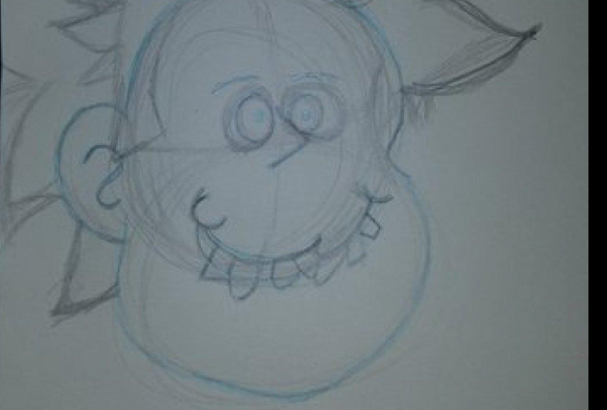 Cartoon Face - student project