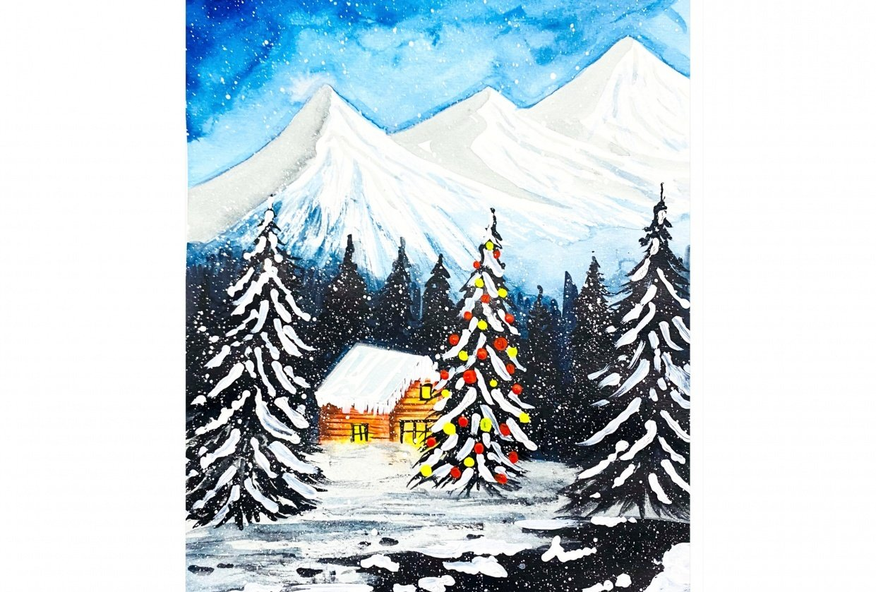 Winter Christmas - student project