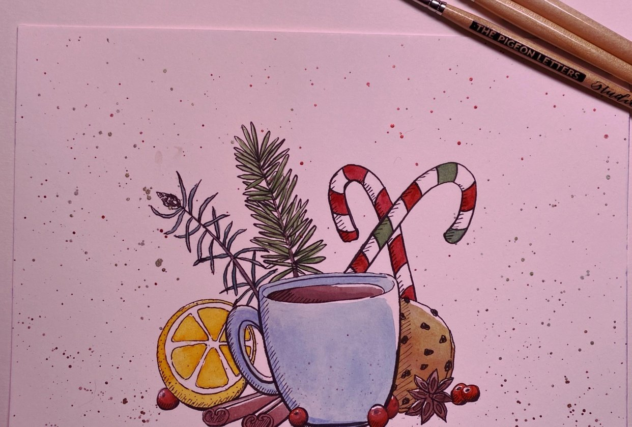 Hot Chocolate and Cheer - student project