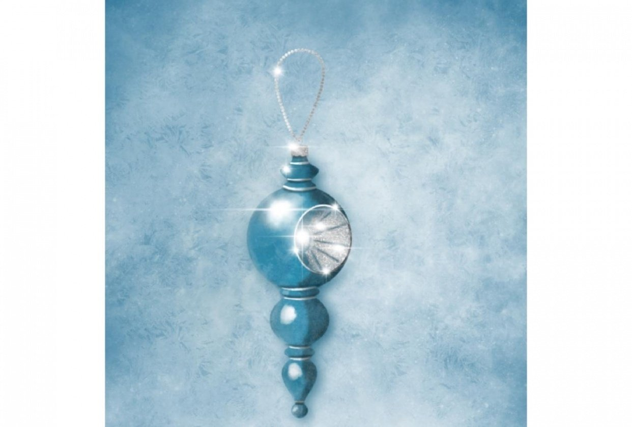 Ornaments went #ipadvintageornaments - student project