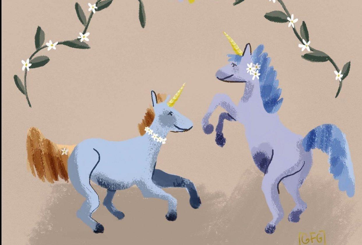 Unicorn magic - student project