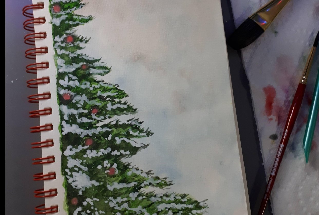 Christmas pictures - student project