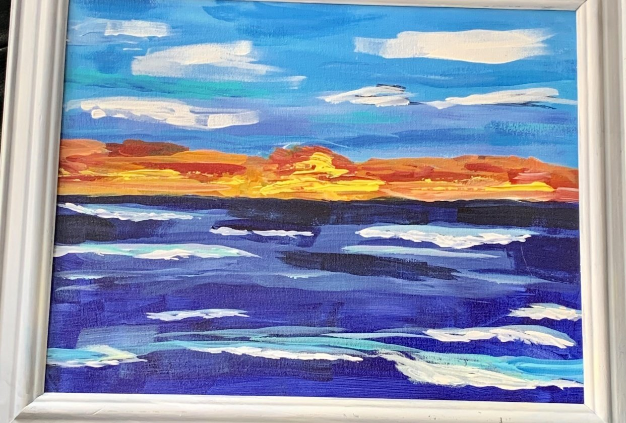 Manasota Key Sunset - student project