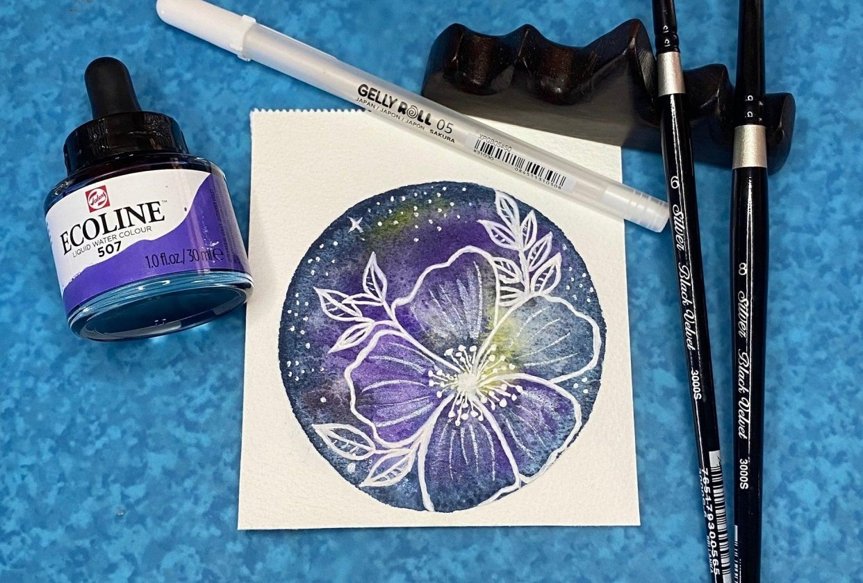 Floral Galaxy - student project