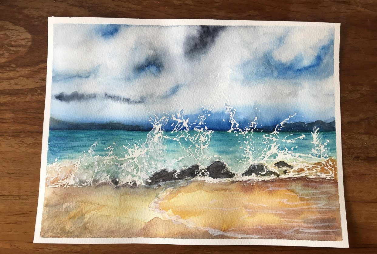 Ocean waves - student project
