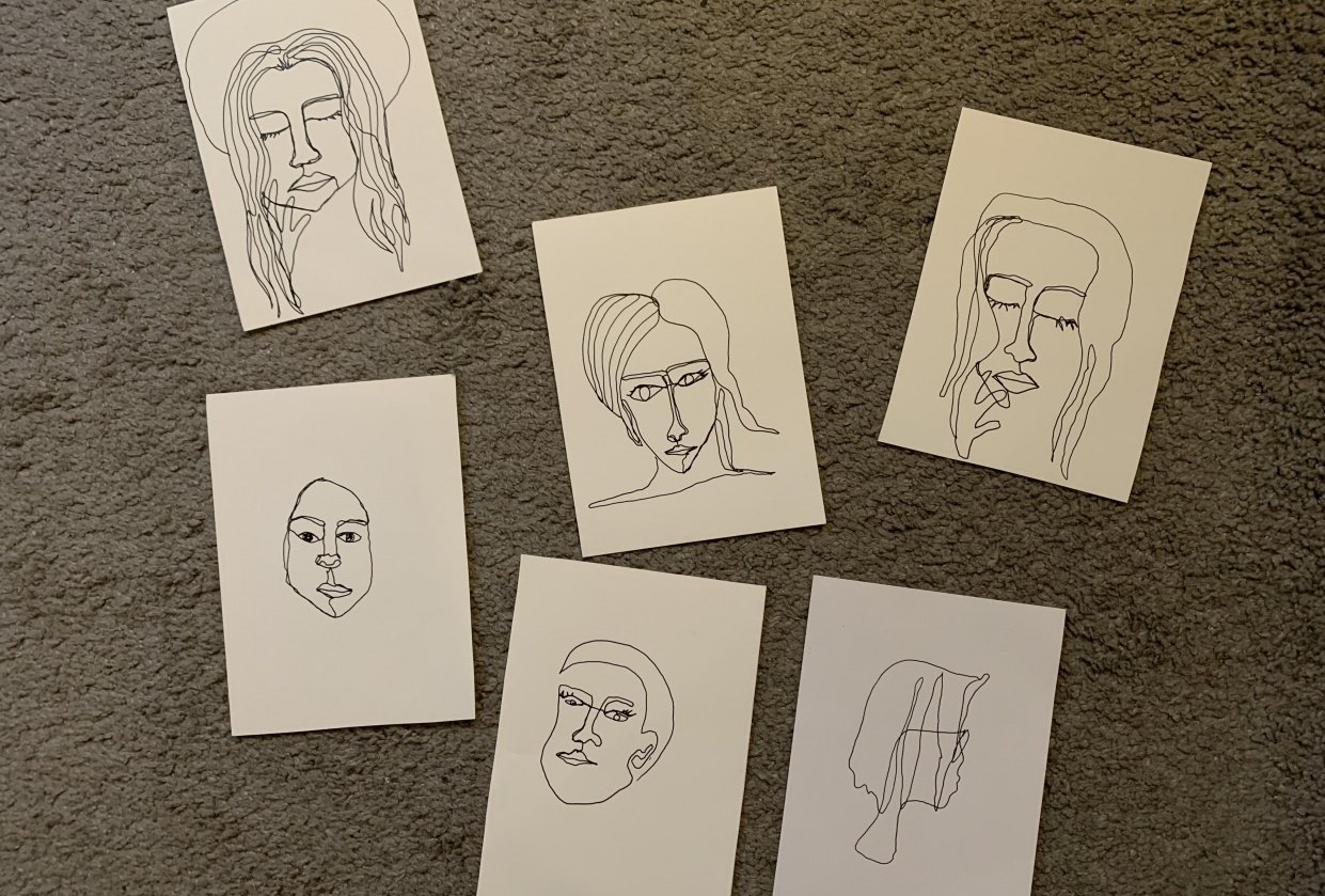 Faces - student project