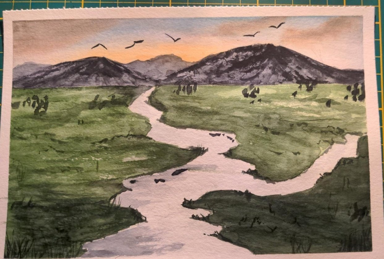 Grassland and Rivers - student project