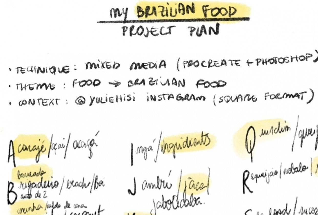 The Brazilian Food Project - student project