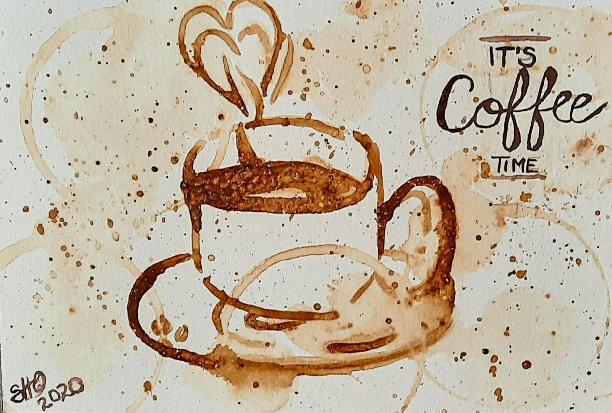 Its Coffee Time - student project