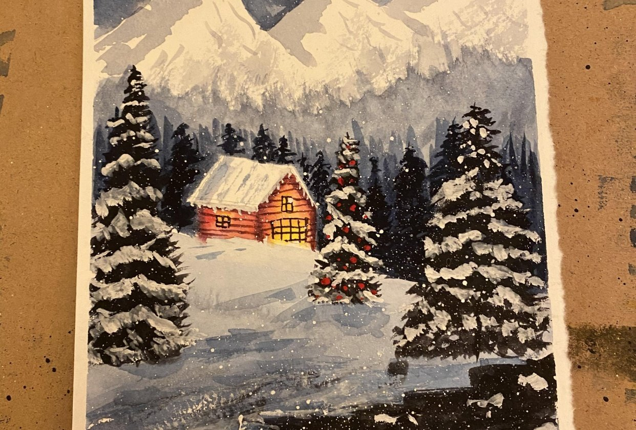 My Snowy Night! - student project