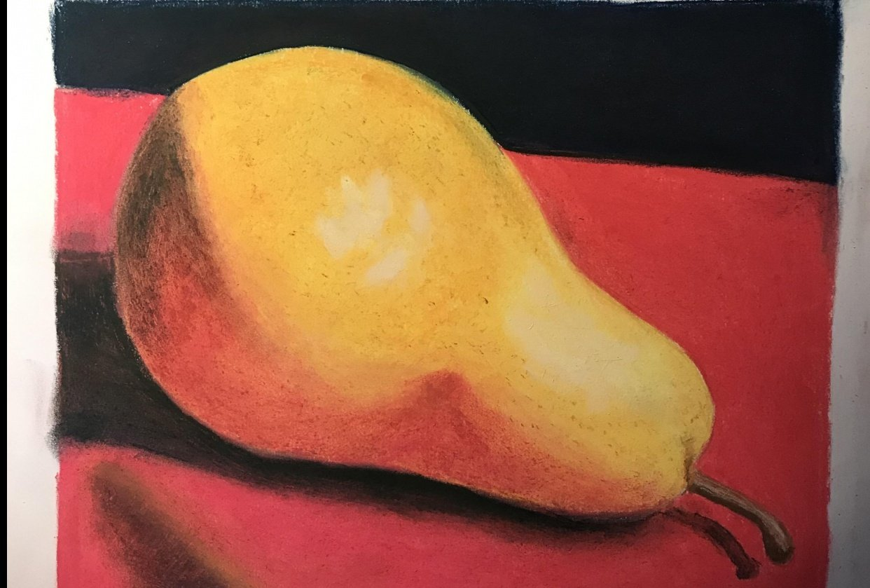 First pastel drawing - student project