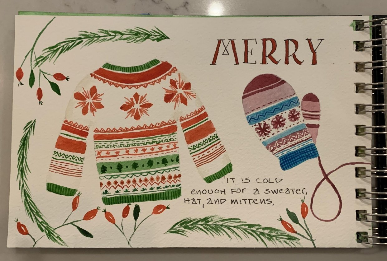 Merry Christmas! - student project