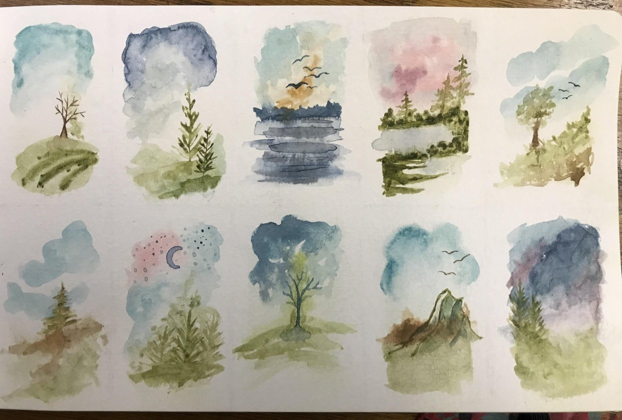 Loose Tiny Landscapes - student project