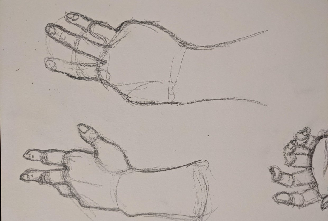 Mastering hands pt 1 - student project