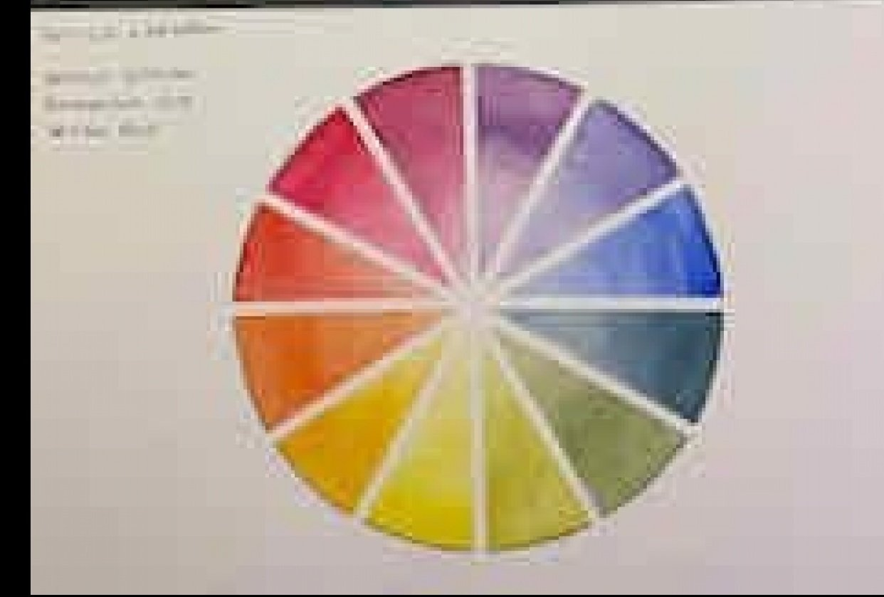 My Color Wheel - student project