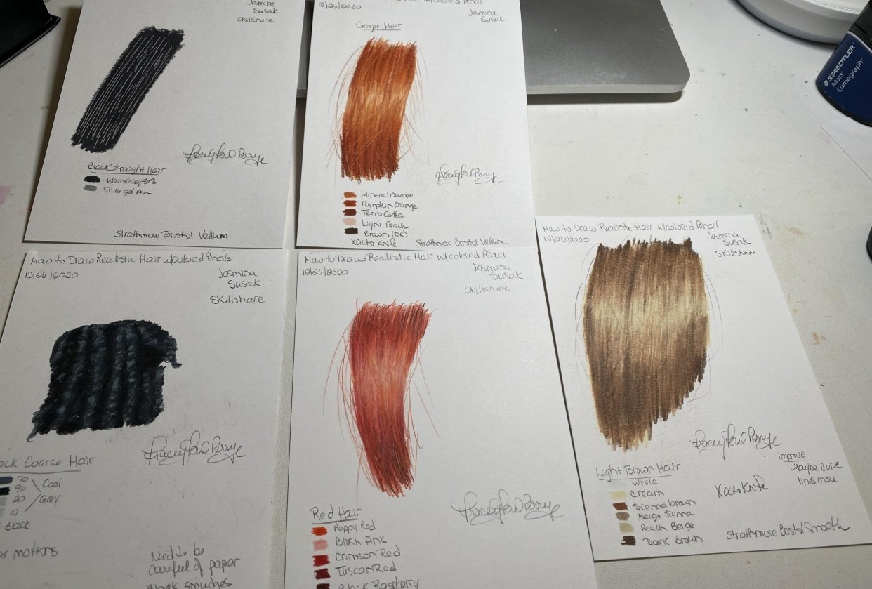 Hair Tutorials - student project