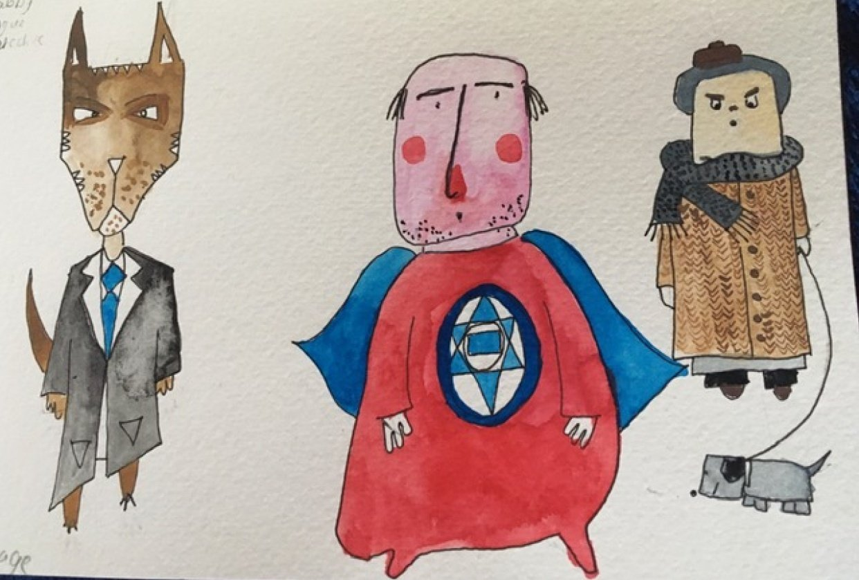 shapely characters - student project