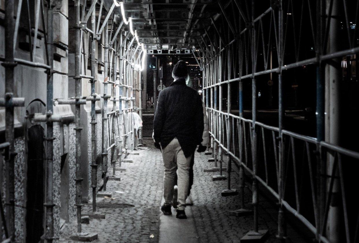 Götenborg at night - student project
