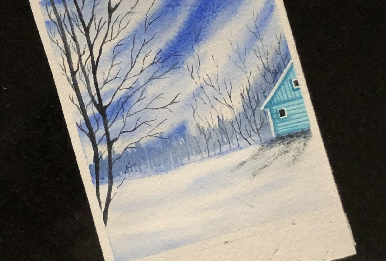 Let it snow by zaneena - student project