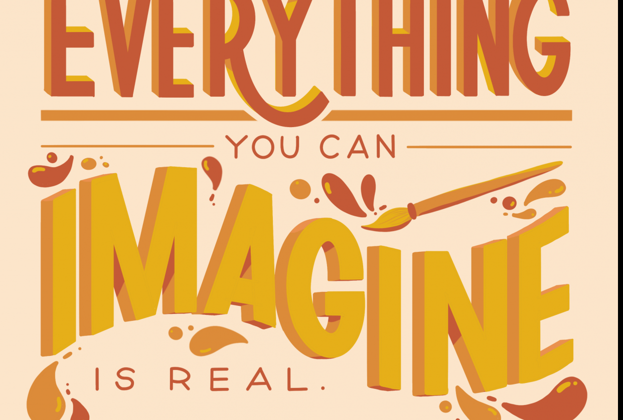 Everything you can imagine is real - Picasso - student project