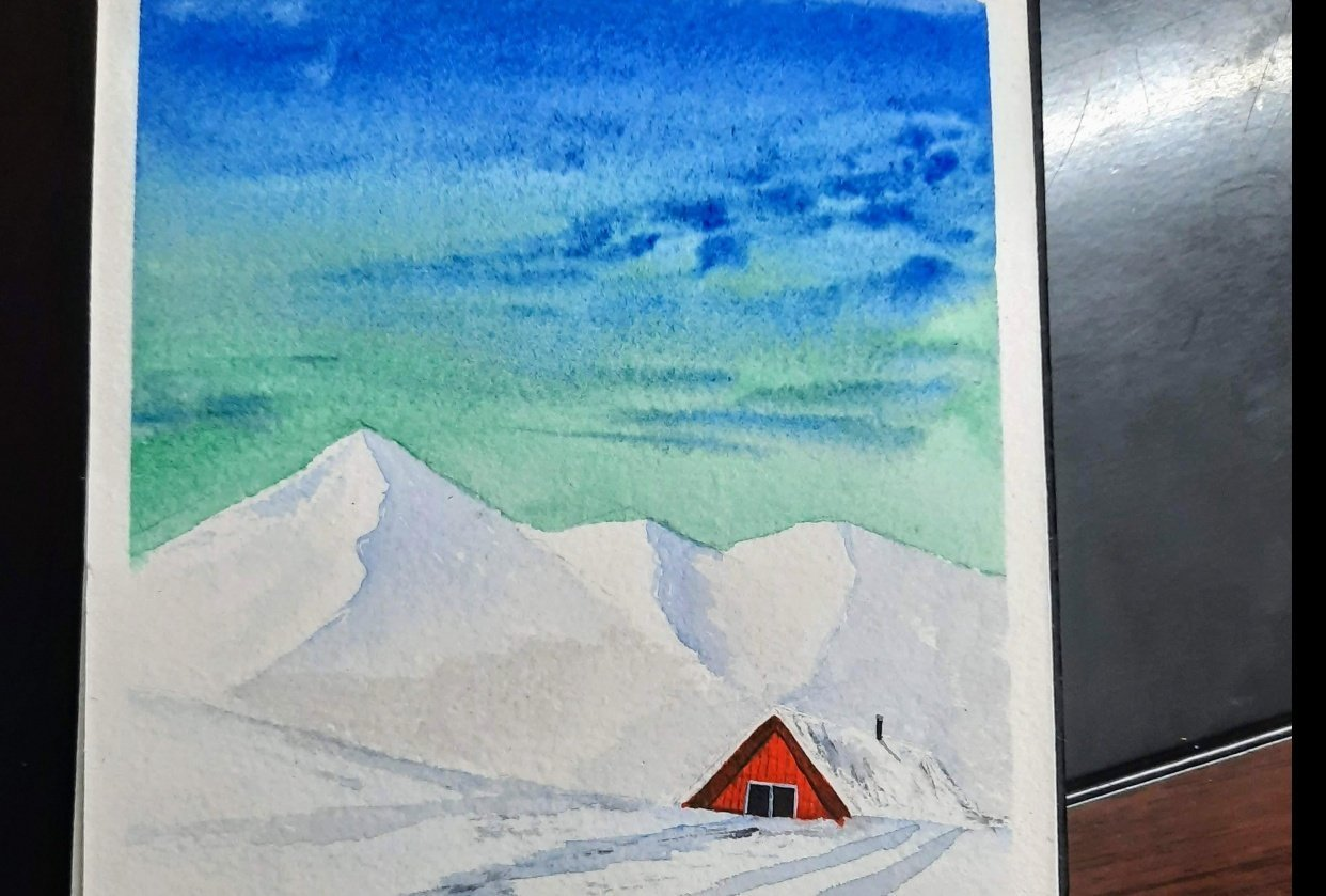 snowy landscapes - student project