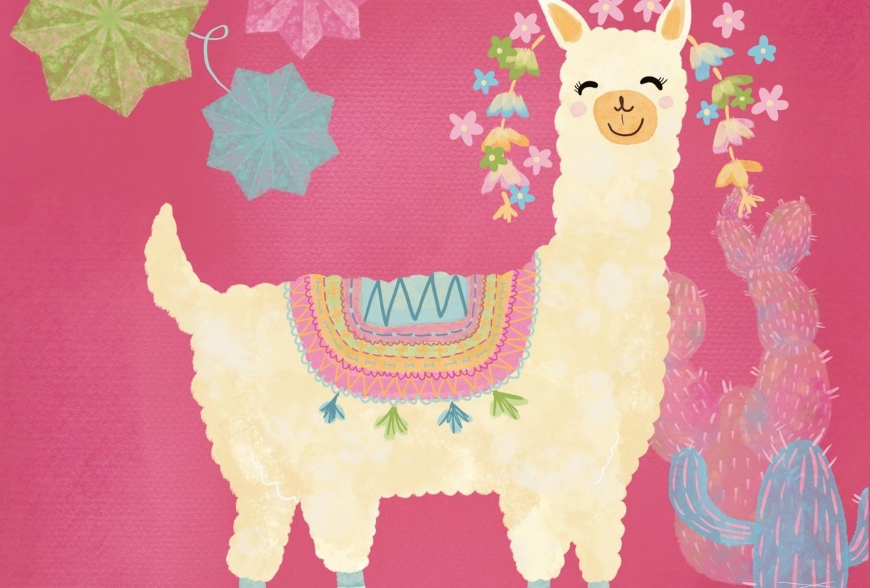 Happy Llama - student project