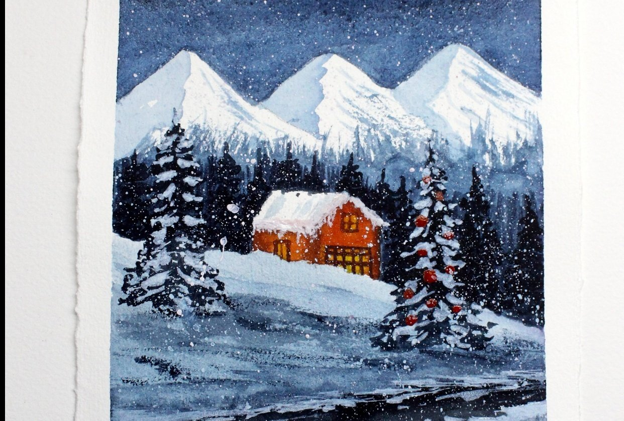 White Christmas!!! - student project